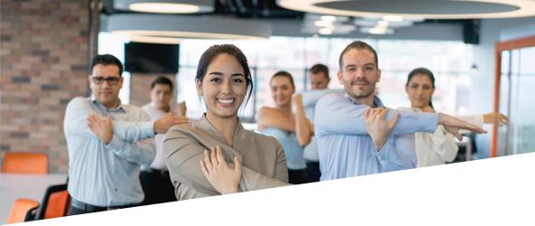 10 tips om uw medewerkers tot meer beweging aan te zetten