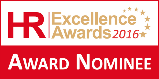 HR Excellence Awards 2016 - Award Nominee