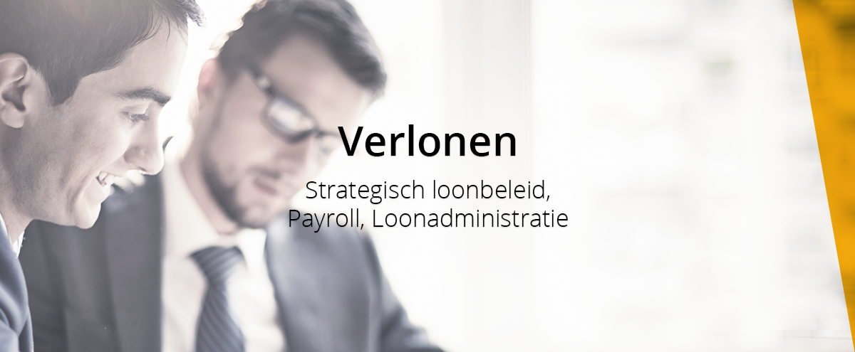Verlonen, strategisch loonbeleid, payroll en loonadministratie