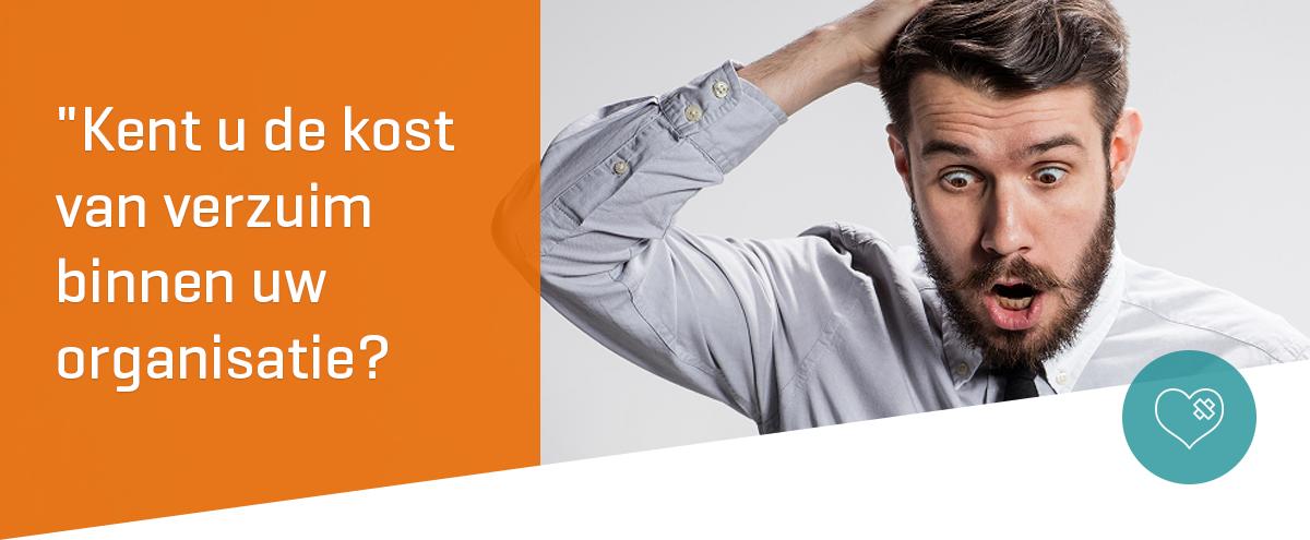 Kent u de kost van verzuim binnen uw organisatie?